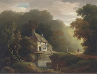 Near Exeter; and Figure by a c