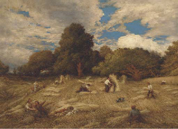 Gathering in the harvest