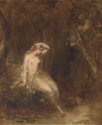 A nymph at the waters edge