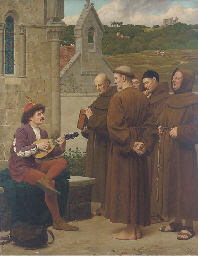 The minstrel, 'A love song for