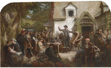 The country auction