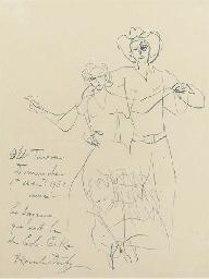 Old Tuscon, Square dancers