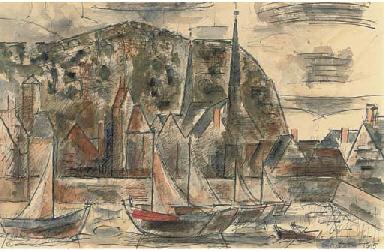 Le port et la colline