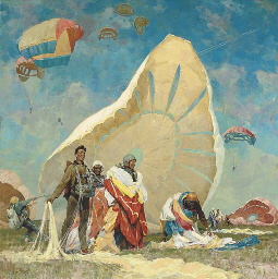 The parachutists