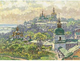 The Monastery of Pecherska Lav