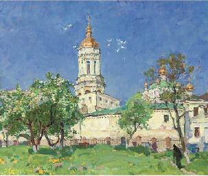 The bell tower of Pecherska La