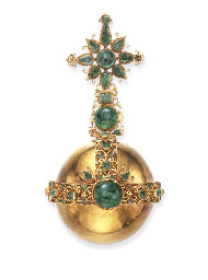 A SPANISH COLONIAL GOLD AND EM