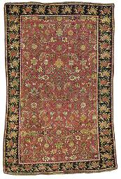An antique Karabagh rug
