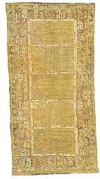 An antique Ghiordes Souf
