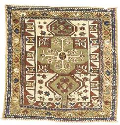 An antique Bergama rug