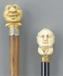 A late victorian carved ivory