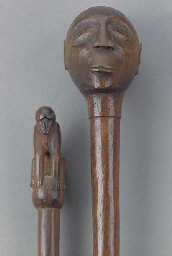A Southern African carved wood
