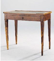 TABLE A ECRIRE DE LA FIN DU XI