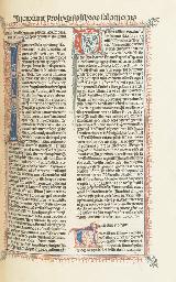 INCUNABLE] -- Biblia latina. [Venise: Nicolaus de Frankfordia, vers 1485].