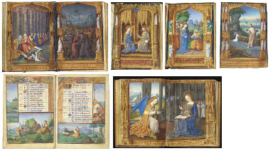 HOURS OF GUYOT II LE PELEY, Book of Hours, use of Troyes and Rome, in Latin...