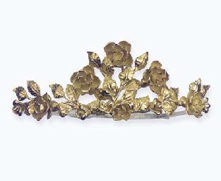 A GOLD TIARA, BY KERN