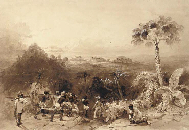 General view of Kabah (Yucatán