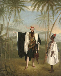 A European traveller, in nativ