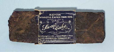A wad of 'Sweet Cake' tobacco