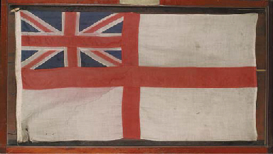 A White Ensign from the Quest,