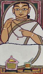 Untitled (Woman in white sari)