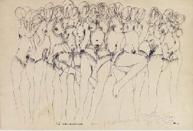 Ten Nudes, Hundred Heads