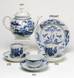 TWO WORCESTER BLUE AND WHITE C