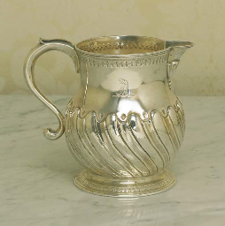 A GEORGE III STERLING SILVER B