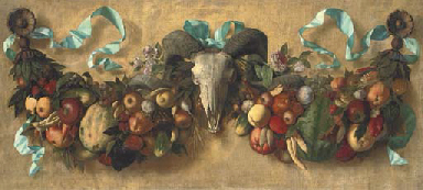 Swathes of fruit and vegetable