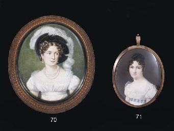 DANIEL SAINT, CIRCA 1815