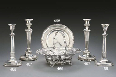 A GEORGE II SILVER SECOND COUR