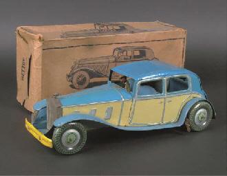a mettoy clockwork 3074 rolls-royce limousine