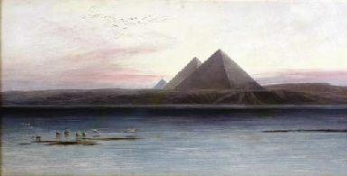 The Pyramids of Ghizeh