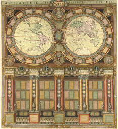 JAUGEON, N. and Louis-Charles DESNOS (fl.1750-1790). Mappe-Monde Céleste...