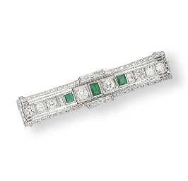 A DIAMOND AND EMERALD OBI CLAS