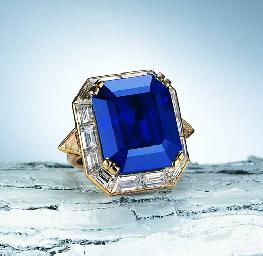 Кольцо с сапфиром и бриллиантами. Boucheron. - Christie's, 2005 - $ 581 тыс.