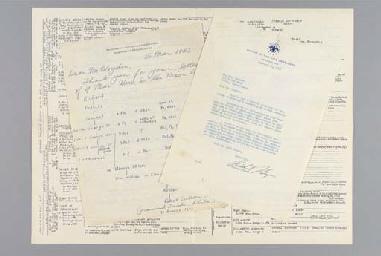 NIXON, Richard M. Typed letter signed (
