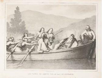 DUPRÉ, Louis (1789-1837). Albu