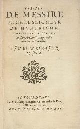 MONTAIGNE, Michel de (1533-159