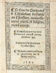THOMAS A KEMPIS (?). Le Livre