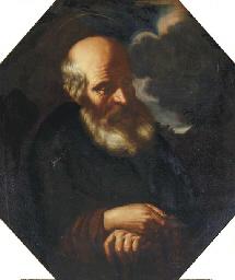 A hermit monk
