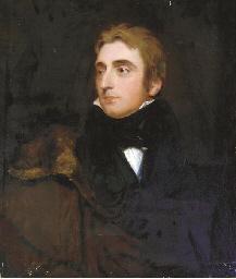 Portrait of a Gentleman, bust-