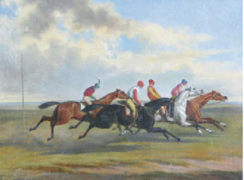 The Epsom Derby; Before the St