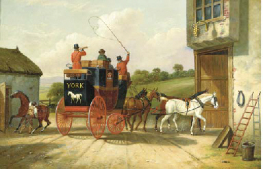 The York and Doncaster Coach h