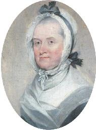 A portrait miniature of a Lady