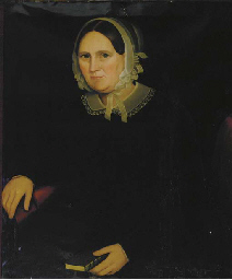 Portrait of a Lady, seated, wi