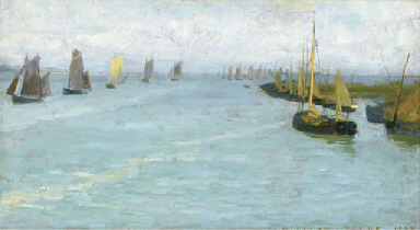 Sailboats offshore