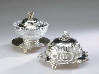 AN ENGLISH SILVER-PLATED AND E