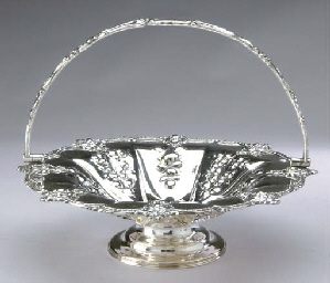 TWO ENGLISH SILVER-PLATED CIRC