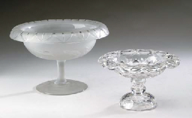 AN ANGLO-IRISH CUT-GLASS COMPO